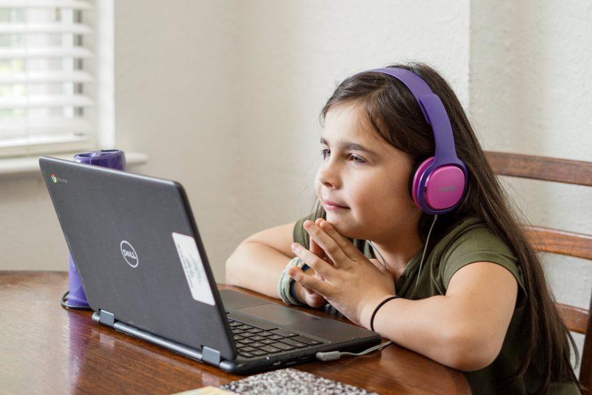 Laps arvutiga